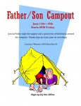 Father/Son Campout 2011